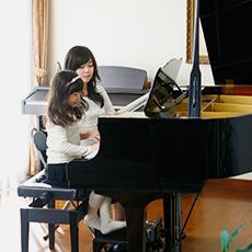 自宅でピアノを教えたい画像