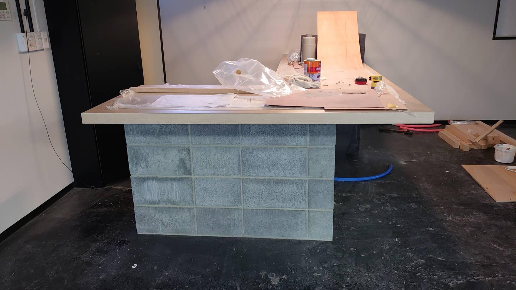 アウトレット家具屋さんの店舗内装工事画像